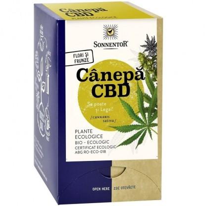 Ceai Canepa CBD (Cannabis sativa) BIO 18 pliculete Sonnentor