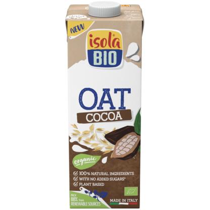 Bautura Bio din ovaz cu cacao 1000 ml Isola Bio
