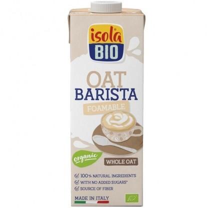 Bautura bio din ovaz integral, Barista pt cafea, fără zahăr 1 litru Isola Bio