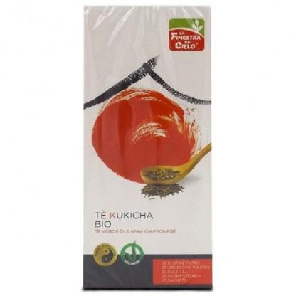 Ceai verde Bio Kukicha Uji vegan 25 plicuri La Finestra Sul Cielo