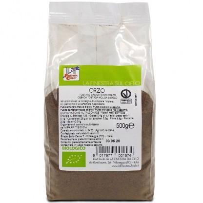 Cafea din orz prajit BIO, macinat, vegan 500g La Finestra Sul Cielo