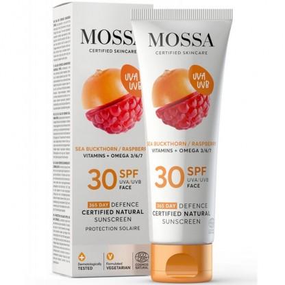 Crema de soare pentru fata SPF30 365 DAYS 50ml Mossa Organic