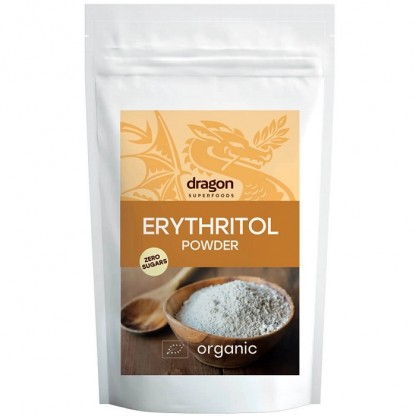 Eritritol - indulcitor bio (Erythritol) 250g Dragon Superfood