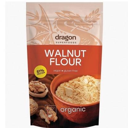 Faina de nuci fara gluten bio 200g Dragon Superfoods
