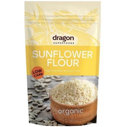 Faina de seminte de floarea soarelui fara gluten bio 200g Dragon Superfoods