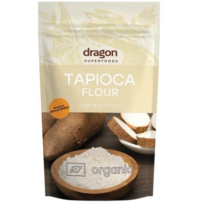 Faina de tapioca fara gluten bio 200g Dragon Superfoods
