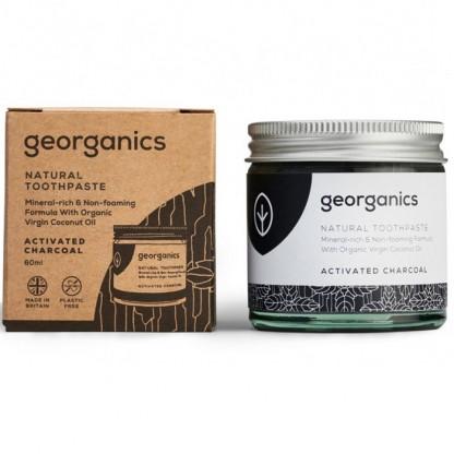 Pasta de dinti minerala Charcoal 60ml Georganics