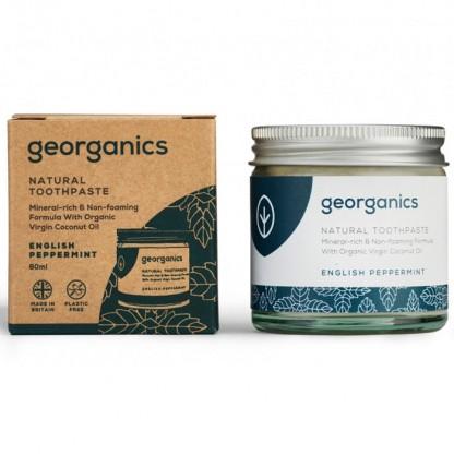 Pasta de dinti minerala English Peppermint 60ml Georganics