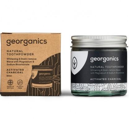 Pasta de dinti pudra Charcoal 60ml Georganics