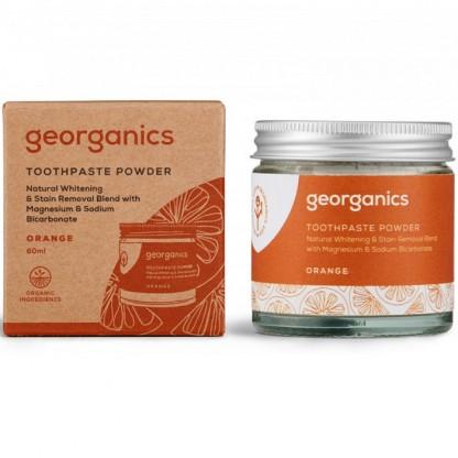 Pasta de dinti pudra Orange 60ml Georganics
