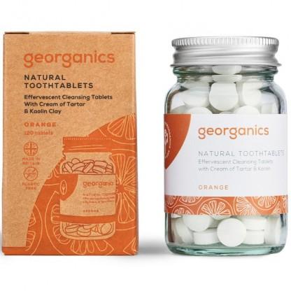 Pasta de dinti tablete Orange 120buc Georganics