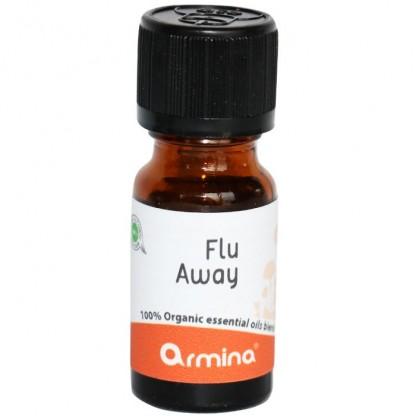 Blend din uleiuri esentiale Flu Away pt difuzor bio 10ml Armina