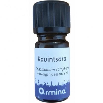 Ulei esential de ravintsara (cinnamomum camphora) pur bio 5ml Armina