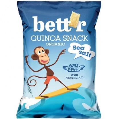 Quinoa snack cu sare bio 50g Bettr