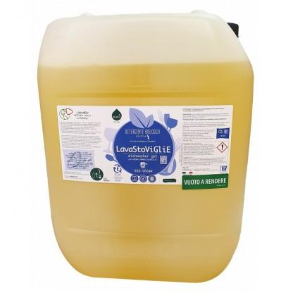 Gel ecologic pentru spalat vase in masina de spalat vase, vrac 20L Biolu