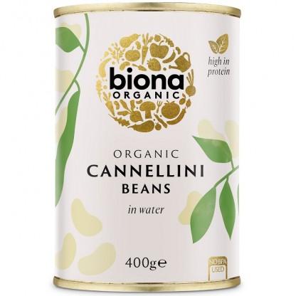 Fasole alba Cannellini BIO 400g Biona