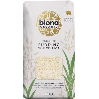 Orez alb pentru orez cu lapte BIO 500g Biona