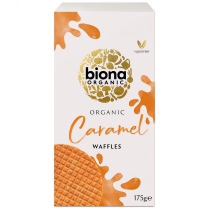 Vafe cu caramel BIO 175g Biona