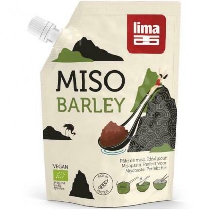 Pasta Miso de orz si soia BIO 300g Lima