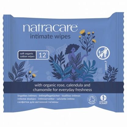 Servetele umede BIO pentru igiena intima 12 buc Natracare