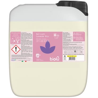 Detergent ecologic lichid pentru rufe delicate 5L Biolu