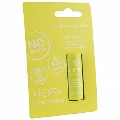 Balsam de buze cu Canepa, zero plastic 6 g Beauty Made Easy