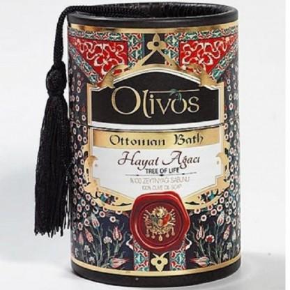 Sapun de lux Otoman Tree of Life cu ulei de masline 2*100g Olivos