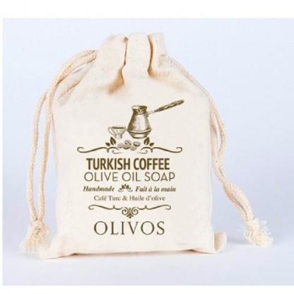 Sapun scrub anticelulitic cu cafea turceasca si ulei de masline 150g Olivos