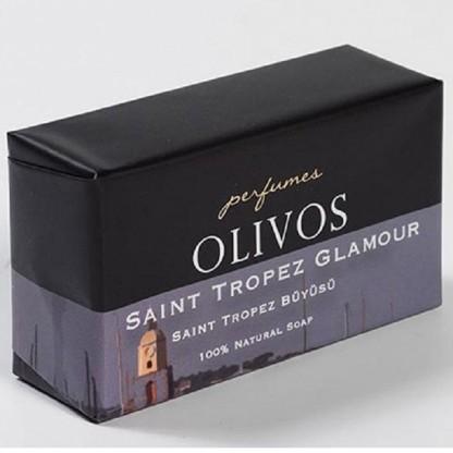 Sapun parfumat pt ten, corp si par, Saint Tropez Glamour, cu ulei de masline extra virgin 250g Olivos