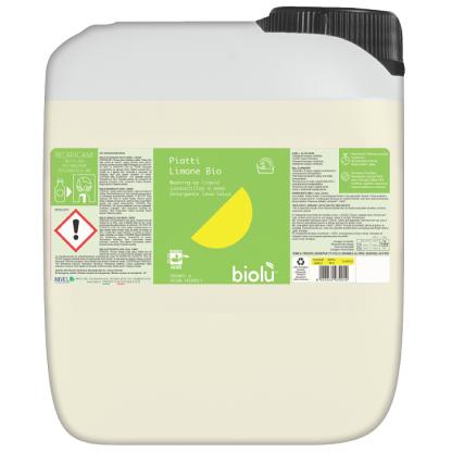 Detergent ecologic pentru spalat vase 5L Biolu