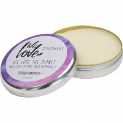 Deodorant natural crema Lovely Lavender 48g We love the planet