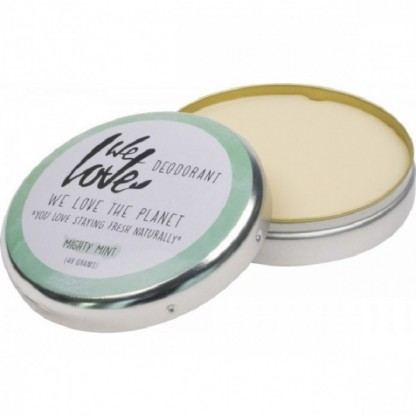 Deodorant natural crema Mighty Mint 48g We love the planet