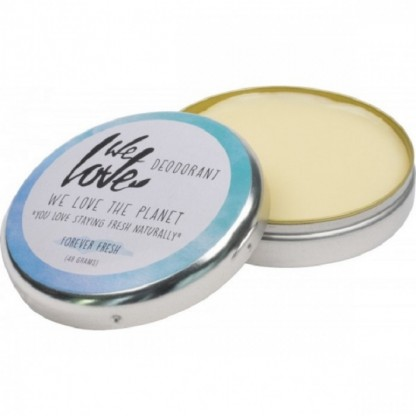 Deodorant natural crema Forever Fresh 48g We love the planet