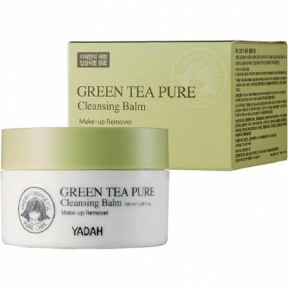 Balsam demachiant pentru ten cu ceai verde 100g Yadah