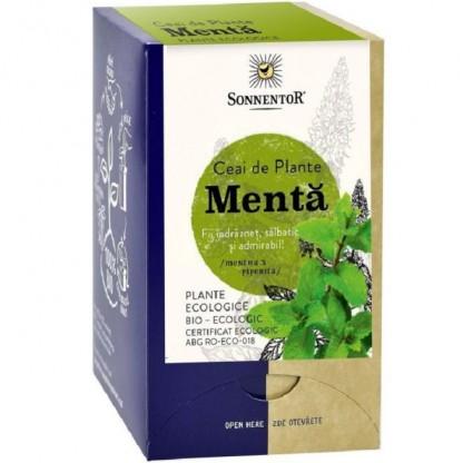Ceai de menta ecologic 18 pliculete Sonnentor