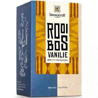 Ceai rooibos vanilie BIO 18 pliculete Sonnentor