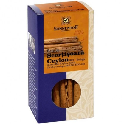 Betisoare de scortisoara Ceylon bio 6 buc Sonnentor