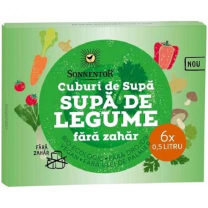 Cub Supa de legume bio, fara zahar 66g Sonnentor
