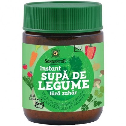 Supa Instant Legume fara zahar 120g Sonnentor