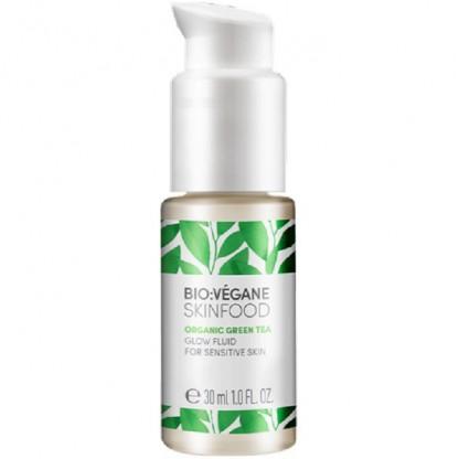 Ser iluminator cu Ceai Verde pt ten sensibil, iritat 30ml Bio:Vegane Skincare