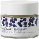 Crema de fata echilibranta cu Acai 24H Care pt ten mixt 50ml Bio:Vegane Skincare