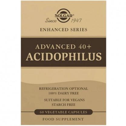 Advanced 40+ Acidophilus (Probiotice) 60cps vegetale Solgar