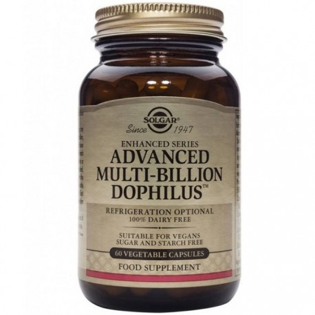 Advanced Multibillion Dophilus 60cps vegetale Solgar