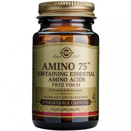 Amino 75 Vegetale 30cps vegetale Solgar