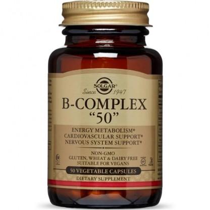Vitamina B-50 Complex 50 Cps vegetale Solgar
