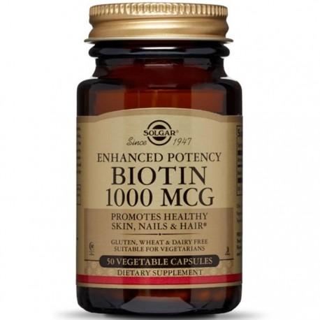 Biotin 1000mcg 50cps vegetale Solgar
