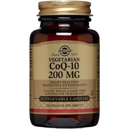 Coenzime Q10 200mg 30 capsule moi Solgar
