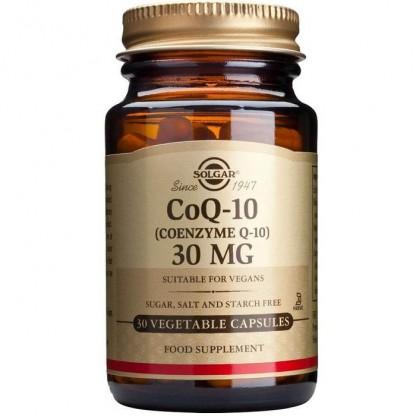 Coenzime Q10 30mg 30 capsule moi Solgar