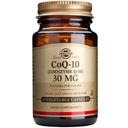 Coenzime Q-10 30mg 30 capsule moi Solgar