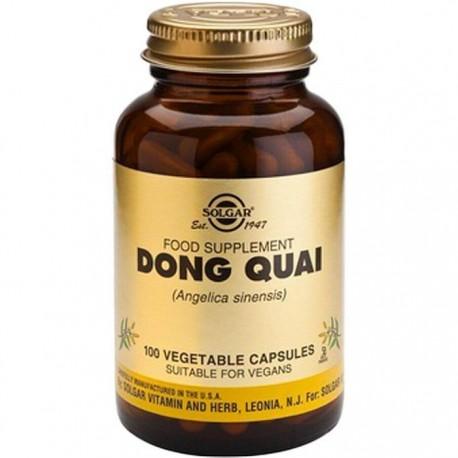 Dong Quai 200mg (Angelica sinenis) 100 capsule vegetale Solgar